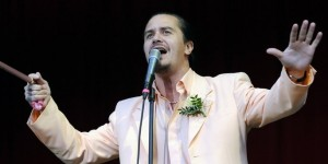 Mike Patton in Berlin (c) dpa