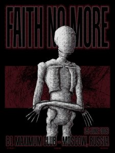 Faith No More poster by Adam Jones