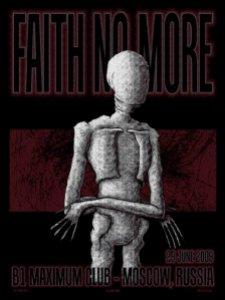 Faith No More poster by Adam Jones