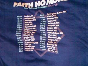 New tour dates?